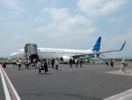 atiiさんが、アジスチプト国際空港で撮影したガルーダ・インドネシア航空 737-8U3の航空フォト(写真)
