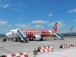 atiiさんが、アジスチプト国際空港で撮影したエアアジア A320-216の航空フォト(写真)