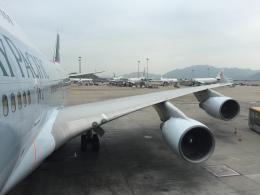 flying-dutchmanさんが、香港国際空港で撮影したキャセイパシフィック航空 747-412の航空フォト(飛行機 写真・画像)