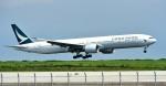 kamerajiijiさんが、羽田空港で撮影したキャセイパシフィック航空 777-367/ERの航空フォト(写真)