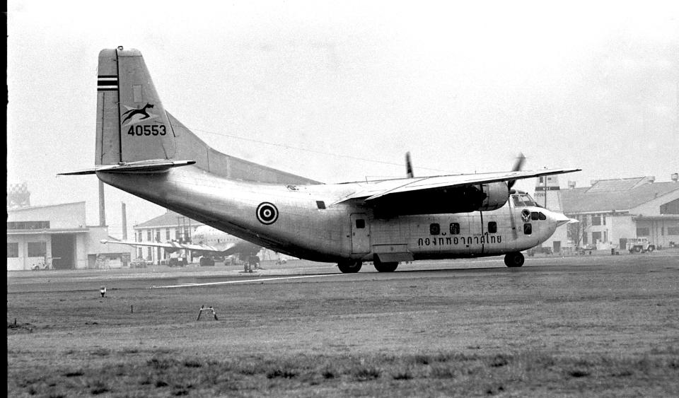 ノビタ君さんのタイ王国空軍 Fairchild C-123 Provider (40553) 航空フォト