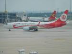 NIKEさんが、天津浜海国際空港で撮影した福州航空 737-86Wの航空フォト(写真)
