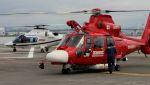 C.Hiranoさんが、舞洲ヘリポートで撮影した京都市消防航空隊 AS365N3 Dauphin 2の航空フォト(写真)