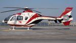 C.Hiranoさんが、舞洲ヘリポートで撮影した読売新聞 EC135P2の航空フォト(写真)