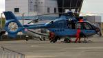 C.Hiranoさんが、舞洲ヘリポートで撮影した福井県警察 EC135T2+の航空フォト(写真)