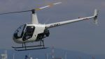 C.Hiranoさんが、舞洲ヘリポートで撮影した小川航空 R22 Betaの航空フォト(写真)