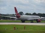 まさ773さんが、ロンドン・ガトウィック空港で撮影したヴァージン・アトランティック航空 A330-343Xの航空フォト(写真)