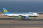 CASH FLOWさんが、中部国際空港で撮影したウズベキスタン航空 A320-214の航空フォト(写真)