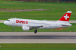 PASSENGERさんが、チューリッヒ空港で撮影したスイスインターナショナルエアラインズ A319-112の航空フォト(写真)