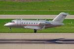 PASSENGERさんが、チューリッヒ空港で撮影したビスタジェット CL-600-2B16 Challenger 605の航空フォト(写真)