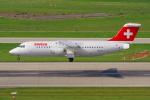 PASSENGERさんが、チューリッヒ空港で撮影したスイスインターナショナルエアラインズ Avro 146-RJ100の航空フォト(写真)