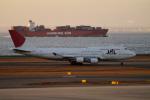 yabyanさんが、中部国際空港で撮影した日本航空 747-446の航空フォト(写真)