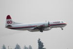 チャッピー・シミズさんが、アボッツフォード国際空港で撮影したコンエア・アヴィエーション L-188 Electraの航空フォト(写真)