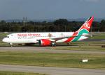 voyagerさんが、ロンドン・ヒースロー空港で撮影したケニア航空 787-8 Dreamlinerの航空フォト(飛行機 写真・画像)