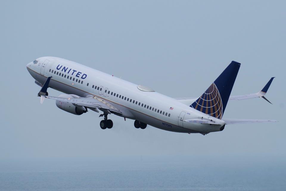 yabyanさんのユナイテッド航空 Boeing 737-800 (N77295) 航空フォト