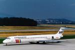 菊池 正人さんが、チューリッヒ空港で撮影したスカンジナビア航空 MD-81 (DC-9-81)の航空フォト(写真)