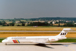 菊池 正人さんが、チューリッヒ空港で撮影したスカンジナビア航空 MD-87 (DC-9-87)の航空フォト(写真)