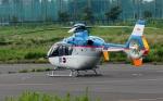 あきらっすさんが、調布飛行場で撮影した東邦航空 EC135T1の航空フォト(写真)