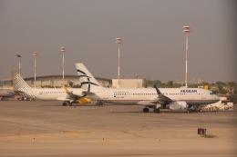天王寺王子さんが、ベン・グリオン国際空港で撮影したエーゲ航空 A320-232の航空フォト(飛行機 写真・画像)