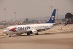 だいすけさんが、ベン・グリオン国際空港で撮影したトラベル・サービス 737-8FHの航空フォト(写真)