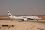 だいすけさんが、ベン・グリオン国際空港で撮影したエル・アル航空 737-958/ERの航空フォト(写真)