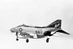 ノビタ君さんが、厚木飛行場で撮影したアメリカ海軍 F-4N Phantom IIの航空フォト(写真)