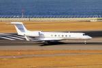 yabyanさんが、中部国際空港で撮影したウェルズ・ファーゴ・バンク・ノースウェスト G-Vの航空フォト(飛行機 写真・画像)