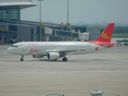 NIKEさんが、天津浜海国際空港で撮影したGXエアラインズ A320-214の航空フォト(飛行機 写真・画像)