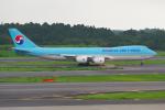 PASSENGERさんが、成田国際空港で撮影した大韓航空 747-8B5F/SCDの航空フォト(写真)
