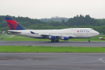 PASSENGERさんが、成田国際空港で撮影したデルタ航空 747-451の航空フォト(写真)