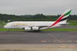 PASSENGERさんが、成田国際空港で撮影したエミレーツ航空 A380-861の航空フォト(写真)