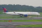 PASSENGERさんが、成田国際空港で撮影したデルタ航空 A350-941XWBの航空フォト(写真)