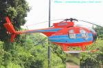 いおりさんが、成田国際空港で撮影した新日本ヘリコプター 369HSの航空フォト(写真)