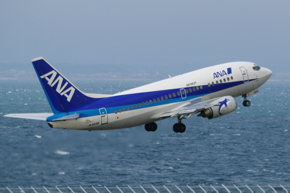 yabyanさんのエアーネクスト Boeing 737-500 (JA358K) 航空フォト