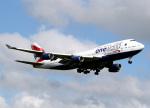 voyagerさんが、ロンドン・ヒースロー空港で撮影したブリティッシュ・エアウェイズ 747-436の航空フォト(飛行機 写真・画像)