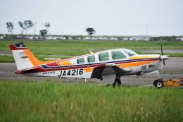 kumagorouさんが、仙台空港で撮影した航空大学校 A36 Bonanza 36の航空フォト(写真)