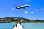 コルフ・イオアニス・カポディストリアス空港 - Corfu International Airport, Ioannis Kapodistrias [CFU/LGKR]で撮影されたライアンエア - Ryanair [FR/RYR]の航空機写真