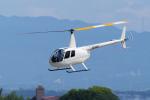 yabyanさんが、名古屋飛行場で撮影した日本個人所有 R44の航空フォト(飛行機 写真・画像)