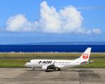 奄美空港 - Amami Airport [ASJ/RJKA]で撮影されたジェイ・エア - J-AIR [JLJ]の航空機写真