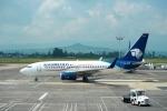 FlyHideさんが、ドン・ミゲル・イダルゴ・イ・コスティージャ国際空港で撮影したアエロメヒコ航空 737-752の航空フォト(写真)