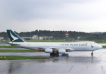 雲霧さんが、成田国際空港で撮影したキャセイパシフィック航空 747-867F/SCDの航空フォト(写真)