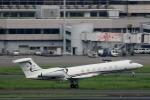 ハピネスさんが、羽田空港で撮影したジェット・アビエーション・ビジネス・ジェット G500/G550 (G-V)の航空フォト(飛行機 写真・画像)