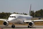 とらとらさんが、フランシスコ・サ・カルネイロ空港で撮影したアゾレス・エアラインズ A320-214の航空フォト(飛行機 写真・画像)