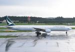 雲霧さんが、成田国際空港で撮影したキャセイパシフィック航空 777-367の航空フォト(写真)