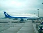 ザキヤマさんが、羽田空港で撮影した全日空 747SR-81の航空フォト(写真)