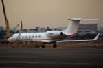KAZKAZさんが、羽田空港で撮影したヒューレット・パッカード G-V Gulfstream Vの航空フォト(写真)