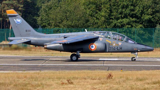 フランス空軍 Alpha Jet E38 クライネ・ブローゲル空軍基地  航空フォト | by cathay451さん