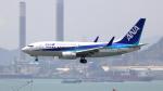 誘喜さんが、香港国際空港で撮影した全日空 737-781の航空フォト(写真)