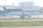 HEATHROWさんが、関西国際空港で撮影したキャセイパシフィック航空 A350-941XWBの航空フォト(写真)