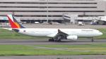 誘喜さんが、羽田空港で撮影したフィリピン航空 A330-343Eの航空フォト(写真)